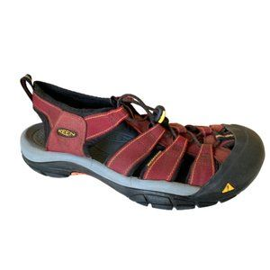 Keen Newport H2 Red Waterproof Sandals Hiking